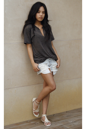 Nation ltd t-shirt - Siwy shorts - shoes
