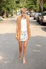 H-m-vest-target-top-zara-skirt-michael-kors-heels