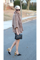 Zara skirt - Nordstrom jacket - Stella & Dot bag - H&M top - Zara heels
