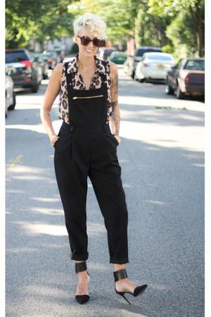 Forever 21 top - asos jumper - Zara heels