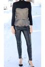 Zara-top-dkny-pants-zara-heels