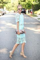 sammydress top - Latico Leathers bag - sammydress skirt - Michael Kors heels