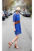 Nasty Gal dress - H&M sunglasses - Zara heels