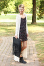 Steve-madden-boots-h-m-dress-h-m-bag-shop-elysian-cardigan