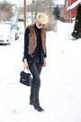 Zara-boots-zara-jeans-zara-sweater-coach-bag-mango-vest