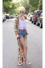 Sheinsidecom-dress-sheinsidecom-shorts-sheinsidecom-top-asos-heels