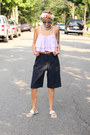 Asoscom-shorts-h-m-flats-sheinside-top-zara-hair-accessory