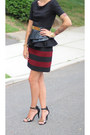 Zara-skirt-asos-heels-forever-21-top-asos-belt