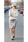 Zara-sweater-piperlime-skirt-zara-heels