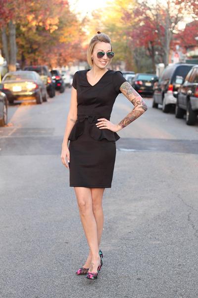 AmiClubWear dress - AmiClubWear heels - Zara earrings