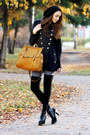 Black-dkny-boots-navy-asos-coat-heather-gray-gipsy-tights-gold-bag