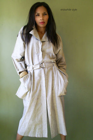 80s Safari Trench Dress dress