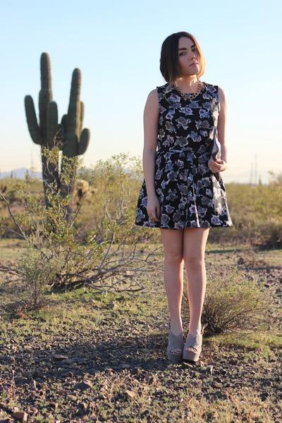 Lush top - Marc Jacobs bag - Forever 21 wedges - Lush skirt