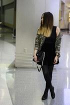 Forever 21 jacket - Forever 21 boots - Marc Jacobs bag