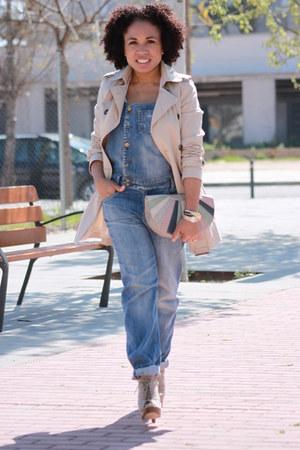 Mango jumper - Zara jacket - Mango bag - Mango heels