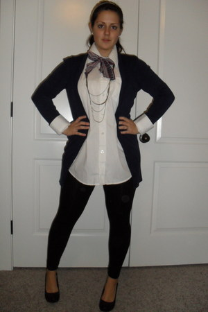 cardigan - wedges