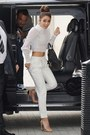 Black-chanel-bag-white-bershka-pants-white-bra-neutral-no-brand-heels