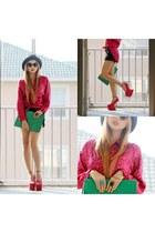 heels - blouse
