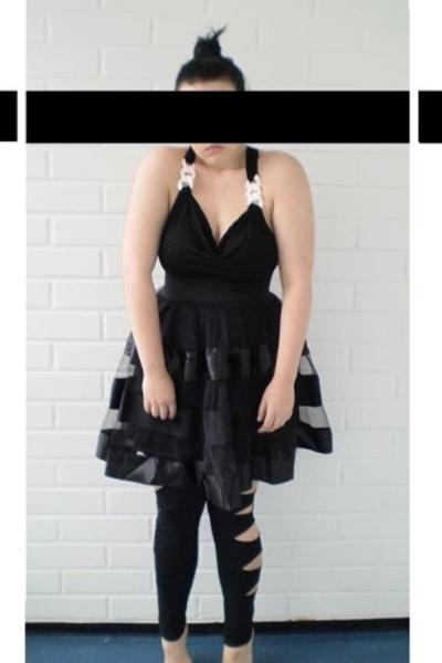 GINA TRICOT top - GINA TRICOT skirt - GINA TRICOT leggings