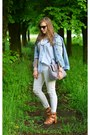 White-h-m-jeans-light-blue-reserved-shirt-periwinkle-deichmann-bag