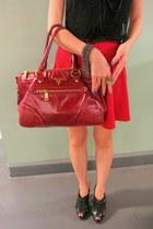 Prada bag - Pedro heels