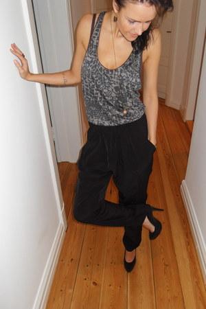 H&M top - GINA TRICOT pants