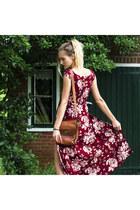 asos shoes - Yoins dress - vintage bag