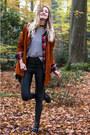 Asos-boots-vintage-jacket-brandy-melville-sweater-vintage-bag