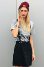 Asos-hat-hype-shirt-h-m-socks-appel-en-ei-skirt-topshop-necklace