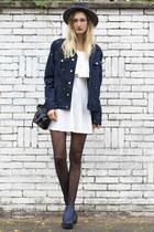 Girlmerry dress - asos coat - asos hat - Sheinside bag