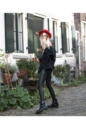 new look jeans - Choies hat - asos jacket - New Yorker top