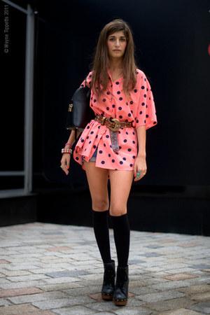 Louis Vuitton bag - Marc by Marc Jacobs blouse