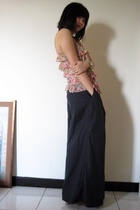 Topshop top - Zucca pants - Cacherel shoes