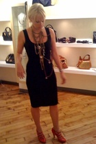 Dolce & Gabbana dress - Chanel shoes - PYT necklace