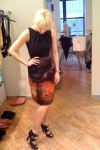 Alberta Ferretti dress - Marios Schwab shoes
