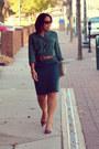 Ivory-vintage-purse-maroon-shoemint-pumps-forest-green-ann-taylor-loft-skirt