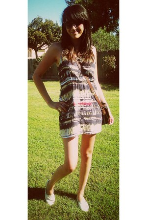 full tilt dress - TOMS shoes - Mossimo sunglasses
