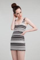 white cotton ay not dead dress
