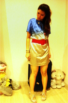 CHARLIE JOE dress - free belt - bought in China shoes