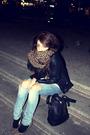 Black-primark-jacket-white-5preview-t-shirt-blue-h-m-jeans