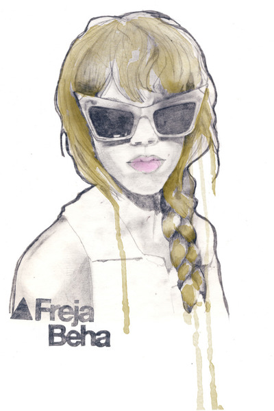 black alexanderwang glasses
