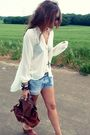 White-topshop-blouse