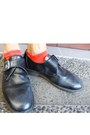 Charcoal-gray-spike-bracelet-black-black-pantofel-dr-martens-shoes