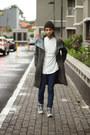 Dark-gray-abocs-coat-navy-slim-fit-topman-jeans-black-knit-topman-hat