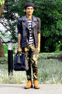 Black-beanie-topman-hat-dark-gray-postman-topman-bag-black-forever-21-vest
