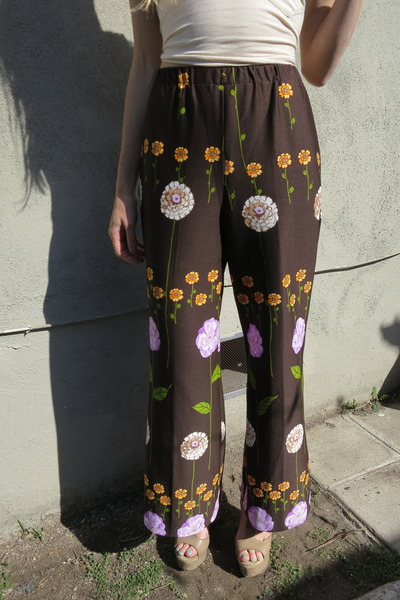 dark brown fair season pants