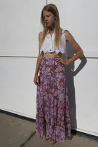 bubble gum fair season skirt