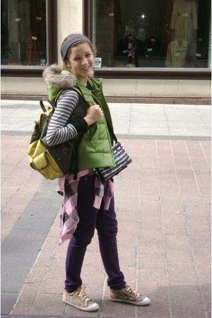 vest - jacket - shoes - sweater - jeans - wallet