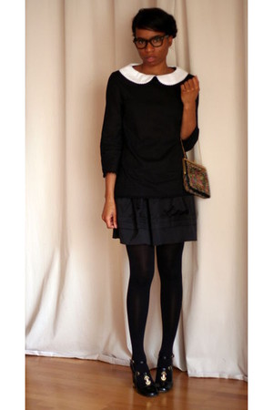 Violette Tannenbaum blouse - Chloe shoes - vintagei bag