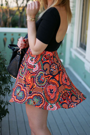shoemint boots - Lush jacket - brandy melville bag - Forever21 skirt
